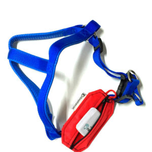 dog harness and pouch