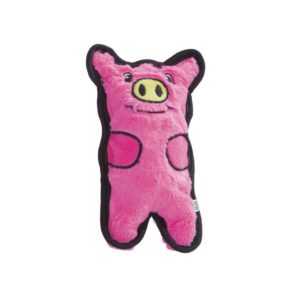 pink pig toy for dogs