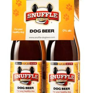 Dog beer made from chicken, chicken dog treats