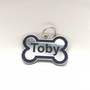 bone shaped dg tag