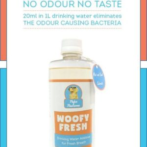 dog dental health natural cleanser