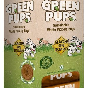 Dog waste pick up bags