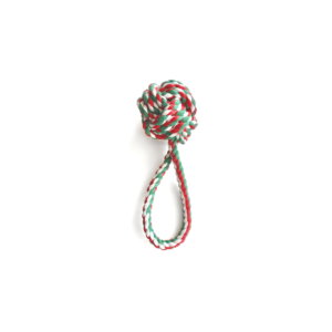 Cotton rope tug toy for dogs
