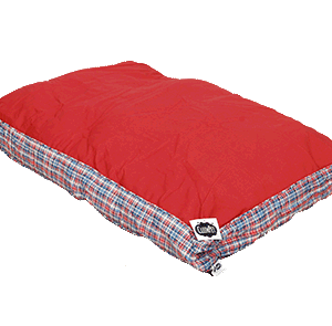 cotton canvas dog beds with soft filling
