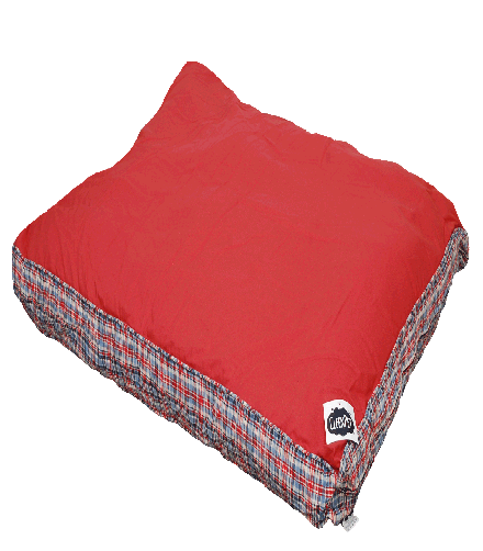 dog beds in red online