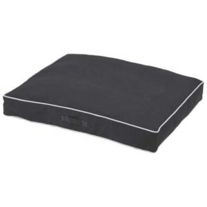 pebble grey dog bed