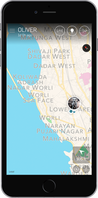 gps tracker app for iPhone Mumbai