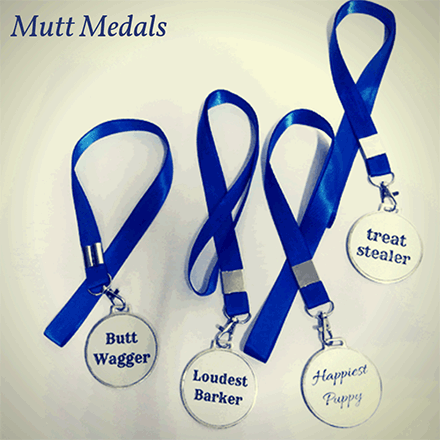 Customised Dog Medals for Dog Birthdays