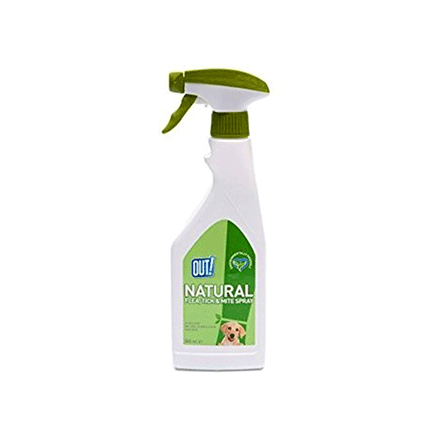 flea and tick spray natural