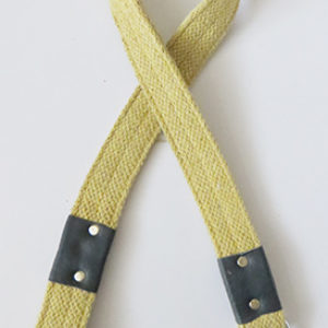 Cotton fabric dog leash