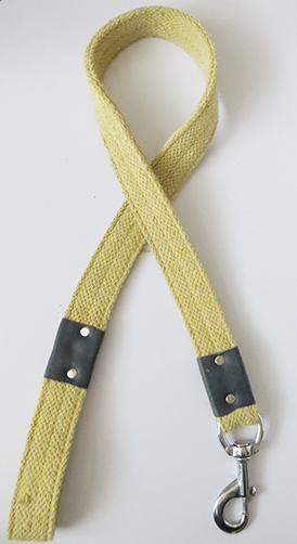 Cotton fabric dog leash