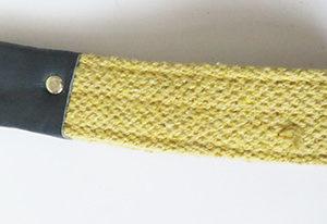 Dog leash handle detail