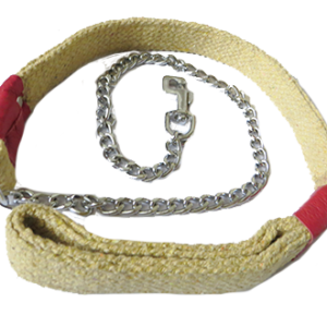 Cotton Khaki Dog Leash