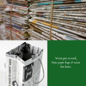 news paper bags
