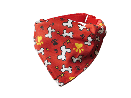 red dog scarf