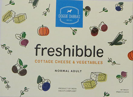 cottage cheese dog food
