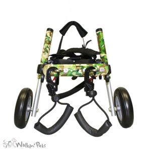 camo dog wheelchair for medium dogs