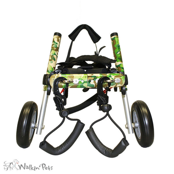 camo dog wheelchair for medium dogs