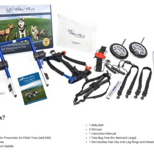 details of wheelchair kit