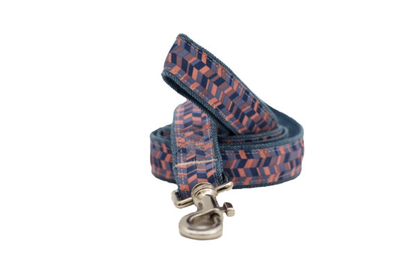 geometric dog leash