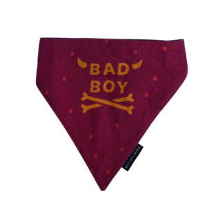 red naughty dog bandana