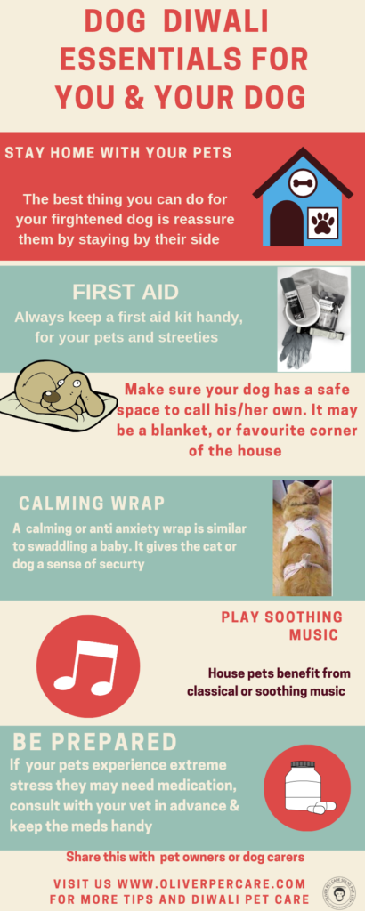 Dog Diwali Guide 6 easy steps to help your pets