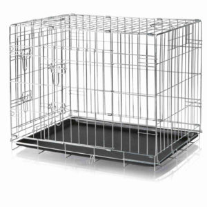 dog crate metal